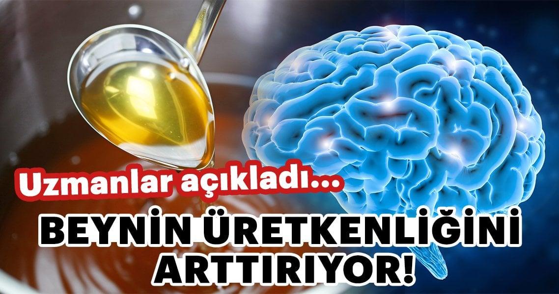 Dikkat! Beynin üretkenliğini çoğaldırıyor!
