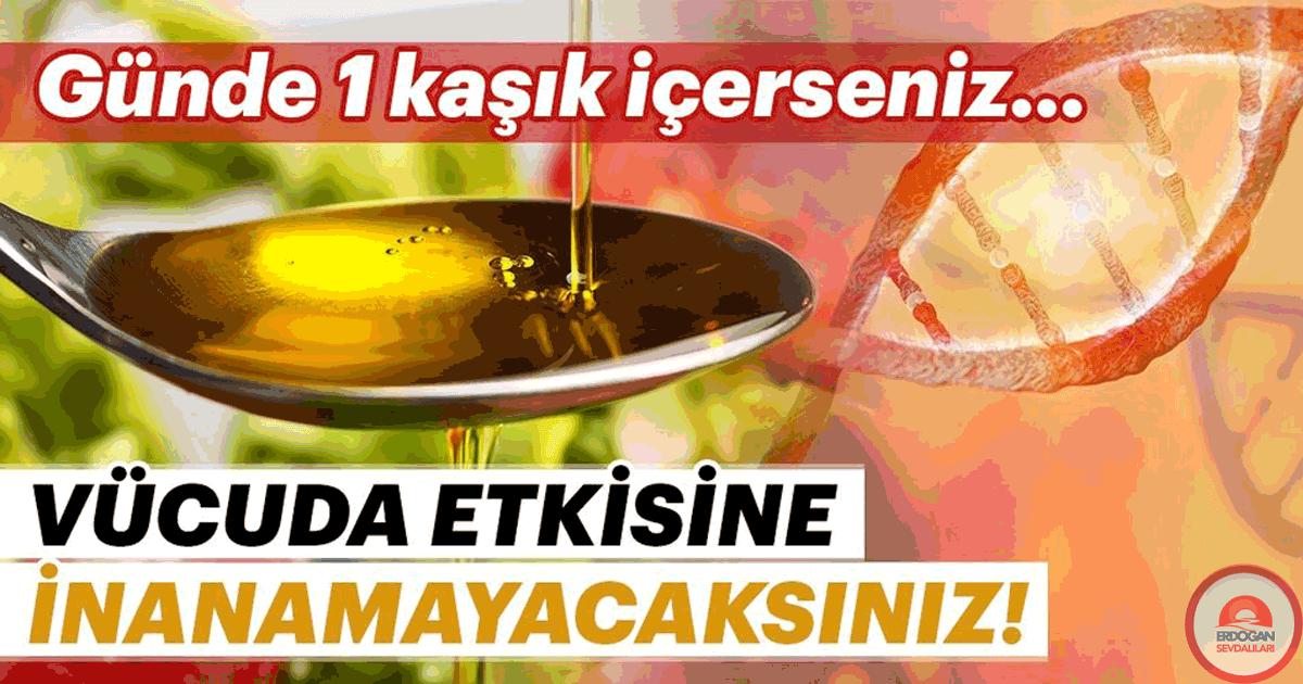 Günde 1 kaşık zeytinyağı kapsasanız…