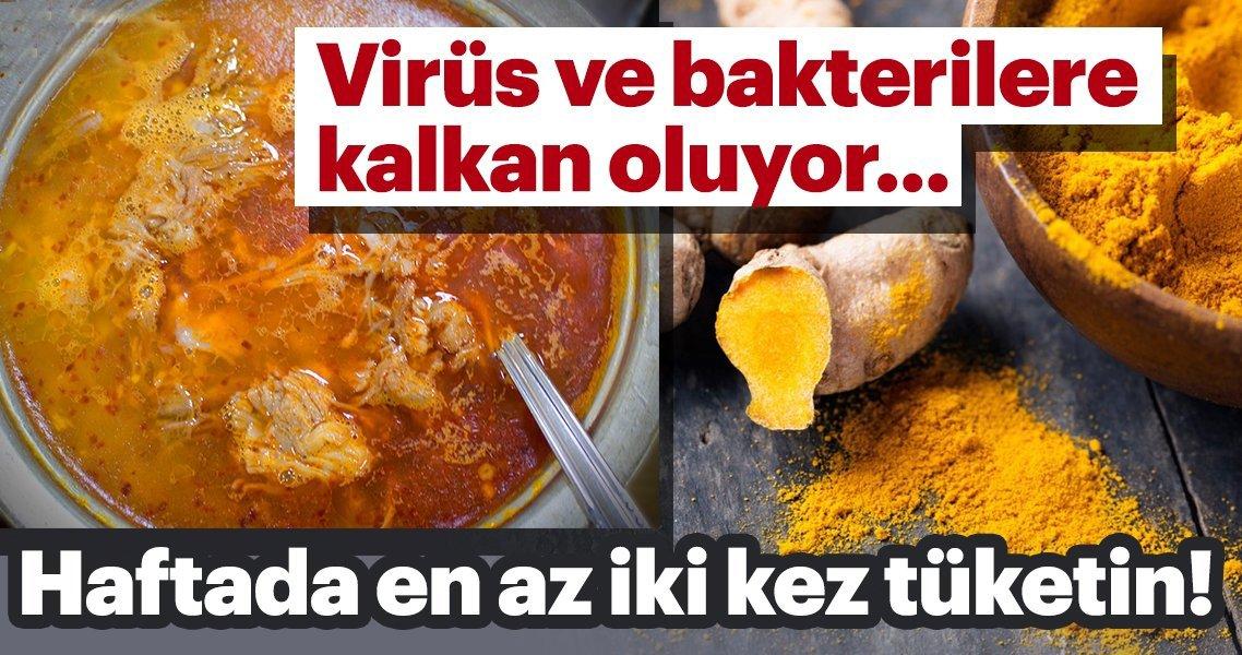 Virüs ve bakterilere kalkan oluyor…Haftada en az iki defa harcayın!