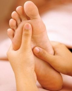 Ayağınızdaki o noktaya bastırırsanız…