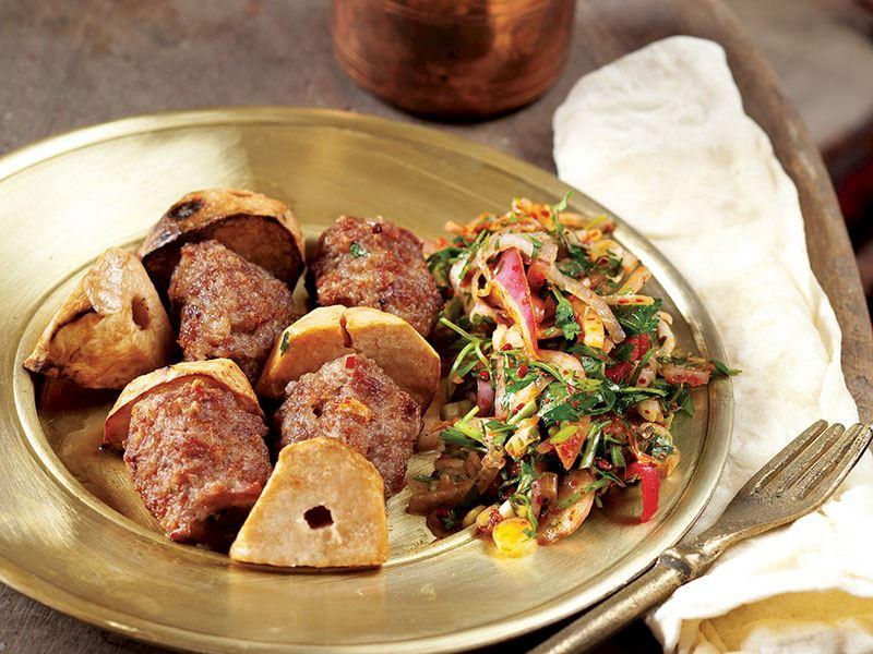 Şanlıurfa'nın tanınmış lezzeti: Keme kebabı