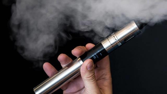 Elektronik sigara sigara vazgeçme vasıtayı değil