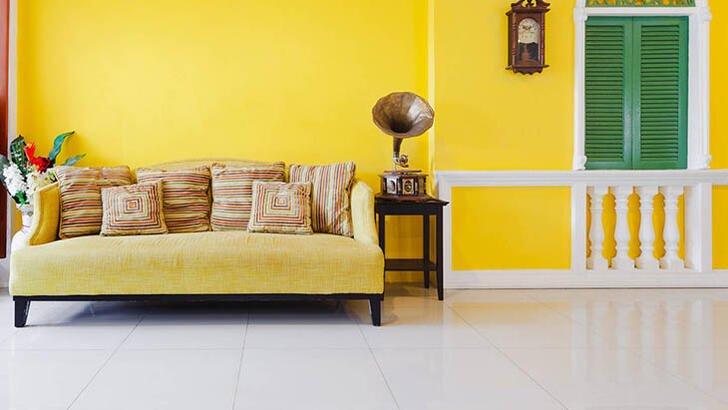 Ev Dekorasyonunda Sarı Renk Nasıl Kullanılır ?
