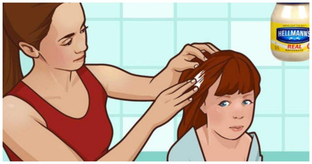 Bu Anne Kızının Saçına Mayonez Sürdü Peki ya Neden