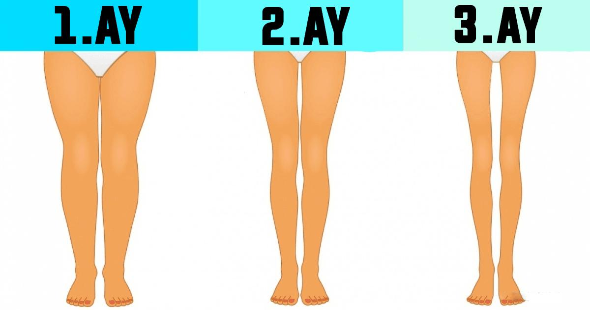 Uykudan Önce Bu Egzersizleri Yaparsanız Bacaklarınız İncecik Olacak