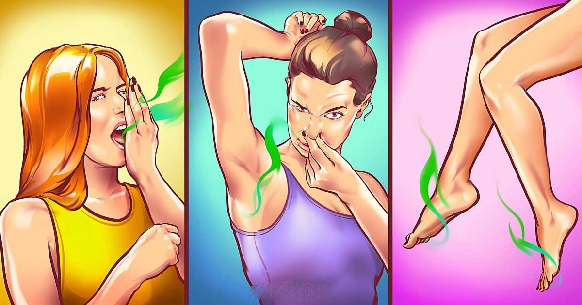 Vücudunuzun Kokusunun Sağlığınız Hakkında Söylediği Hastalıklar
