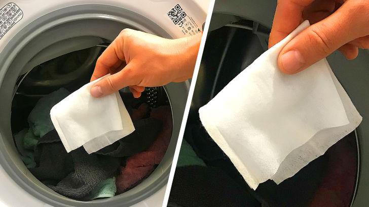Çamaşır makinenize ıslak mendil koyun giysilerinizdeki değişime şahit olun