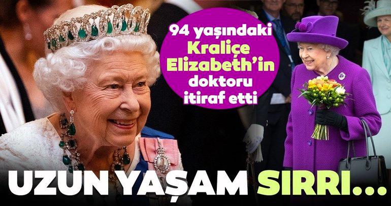 94 yaşındaki Kraliçe II. Elizabeth'in uzun yaşam sırrı ortaya çıktı!