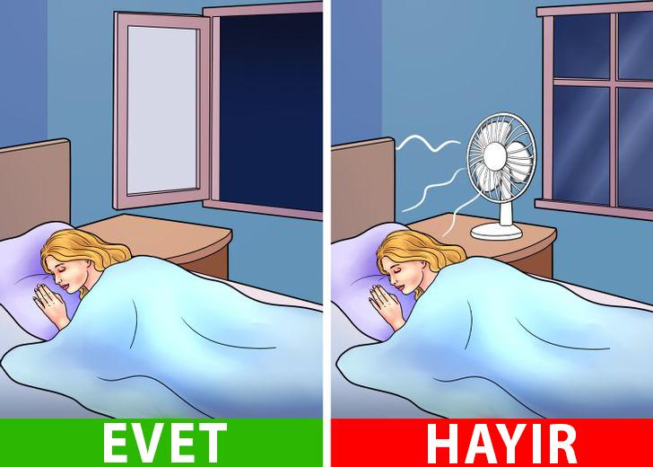 Pervane Karşısında Uyumanın Çok ciddi Tehlikeleri var