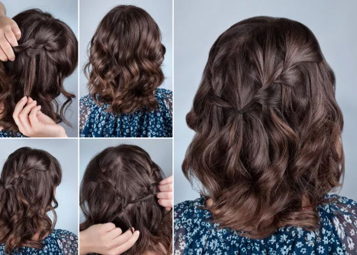 5 Dakika içinde Saçlarınız Kuaförden Çıkmış gibi olacak