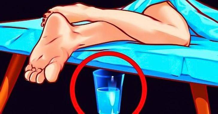Uyuduğunuz Yatağın Altına 1 Bardak Su Koyarsanız